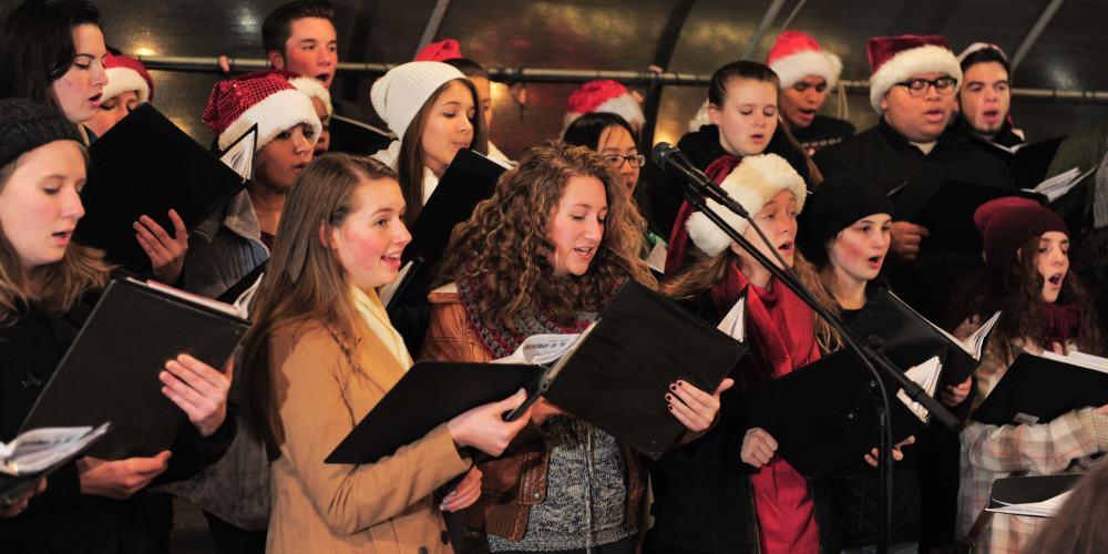 Enjoy the Holiday Music of Local High school Choruses